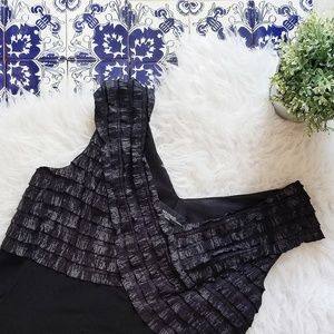 R&M RICHARD'S black dress